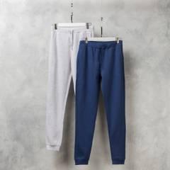 FEDERATION - Pantalón de buzo pack de 2 unidades niño