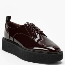 Basement - Zapato Casual Mujer Burdeo
