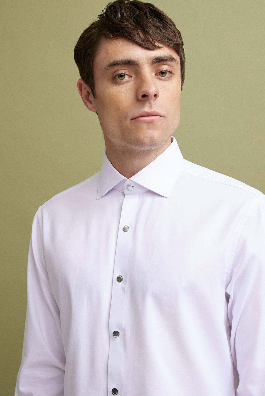 BASEMENT - Camisa Slim Fit Stretch