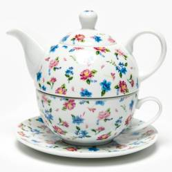 Roberta Allen - Tea For One Flor Celeste 15x14.5 cm