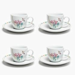 Roberta Allen - Set x4 Tazas de Café Laura