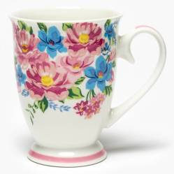 Roberta Allen - Mug Flores Rosa  8.5x11 cm