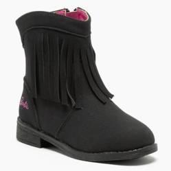 Barbie - Botin Niña Negro