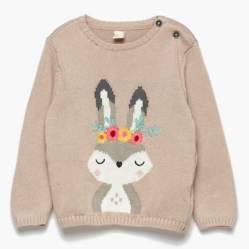 Yamp - Sweater Animales Bebé Niña