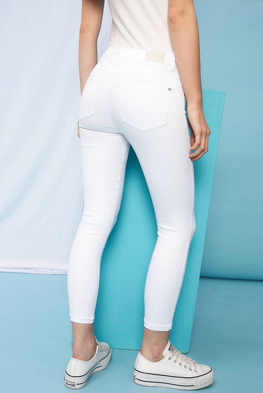 SYBILLA - Jeans Push Up Tiro Alto Mujer