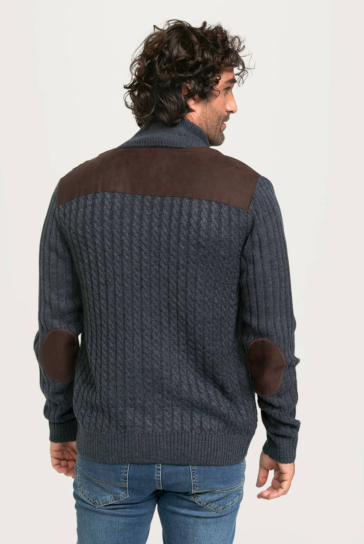 NEWPORT - Sweater Full Zipper Hombre