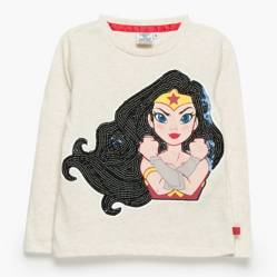 Dc Super Hero Girls - Polera Manga Corta Niña
