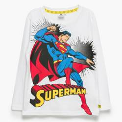 Dc Originals - Polera Manga Larga Niño Algodón Batman