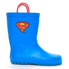 WARNER BROS - Superman Bota de Agua Niño Azul