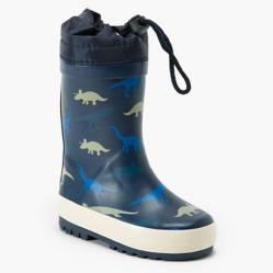 Yamp - Bota de Lluvia Niño Azul Dinosaurios Bo Rain3 Az