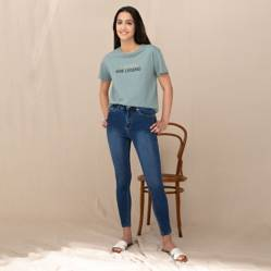 University Club - Jeans de Algodón Skinny Fit Mujer