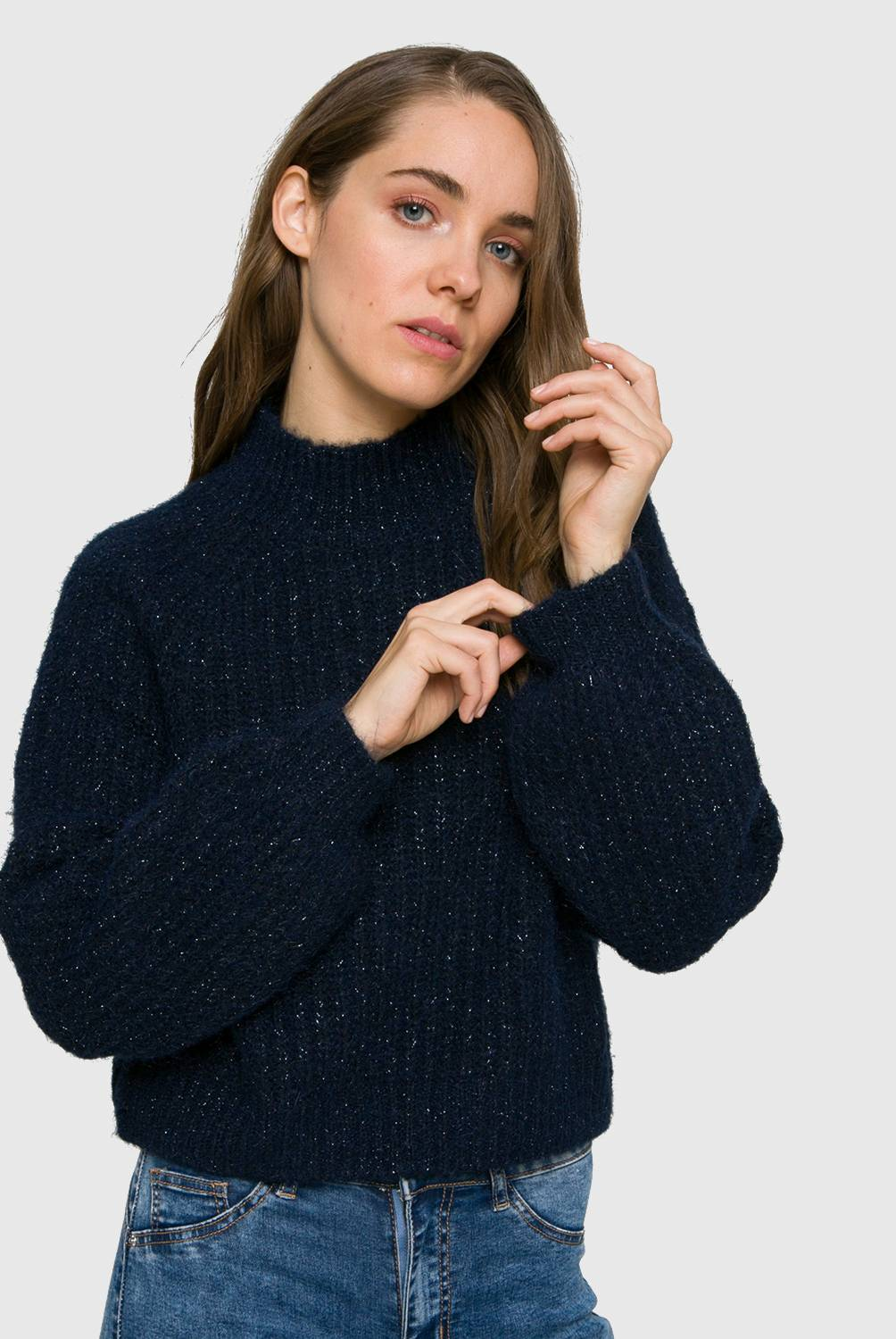 Sybilla - Sweater Cuello