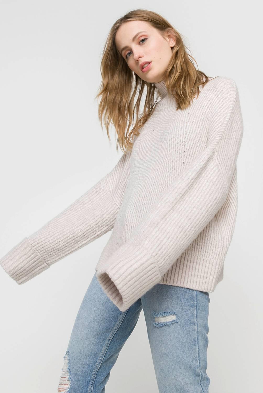Basement - Sweater Manga Larga Mujer