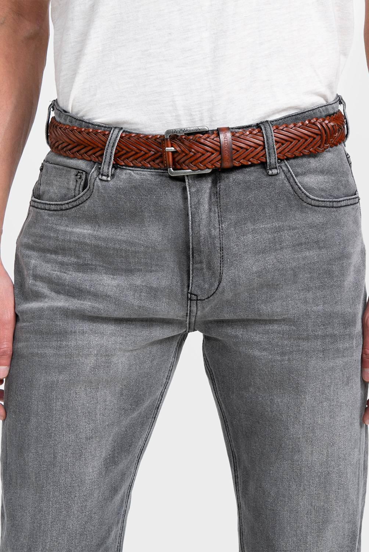 La Martina - Pack Cinturón de cuero + calcetin algodón Supima