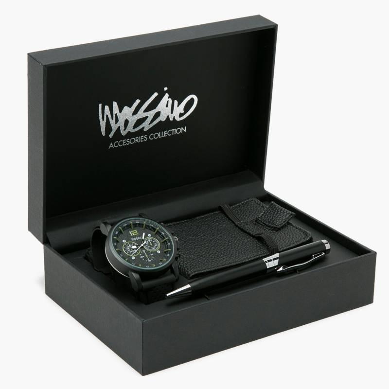Mossimo - Set Reloj SETMOSSH02AI20
