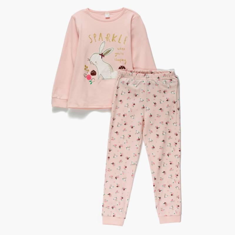Yamp - Pijama niña algodón 2 piezas