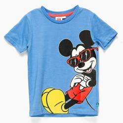Std Characters - Polera Niño Algodón Mickey