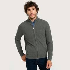 UNIVERSITY CLUB - Sweater Full Zipper Hombre