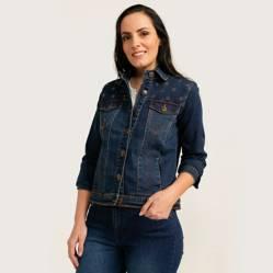 Newport - Chaqueta Jeans Mujer