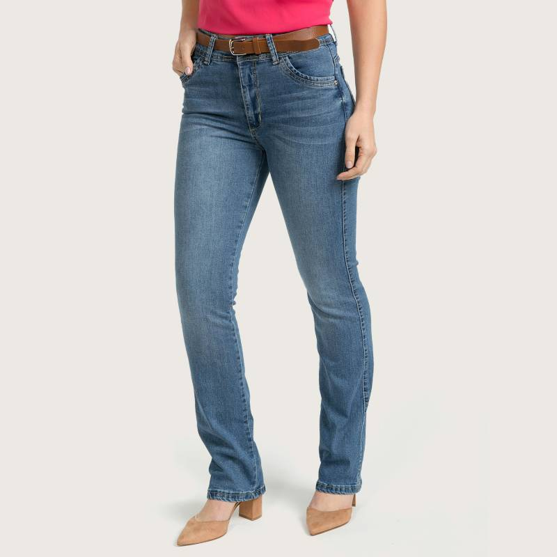 Elle - Jeans Straight Mujer