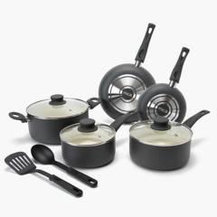 Mica - Baterías de cocina antiadherente COCCION 10 pzas