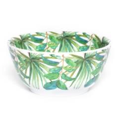 BASEMENT HOME - Bowl de Melamina Hojas Verdes 15 cm
