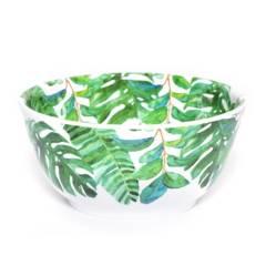 BASEMENT HOME - Bowl de Melamina Hojas Verde 15 cm