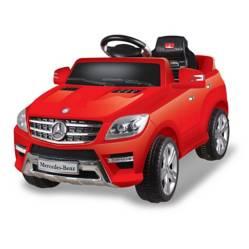 MERCEDES BENZ - Auto a bateria Mercedes ML Rojo
