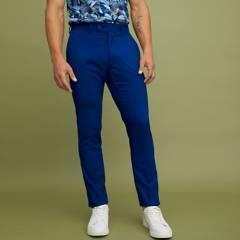 BASEMENT - Pantalón Regular Fit de Algodón Hombre