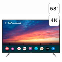 Recco - LED RECCO 58'' L58D1202 4K Ultra HD Smart TV