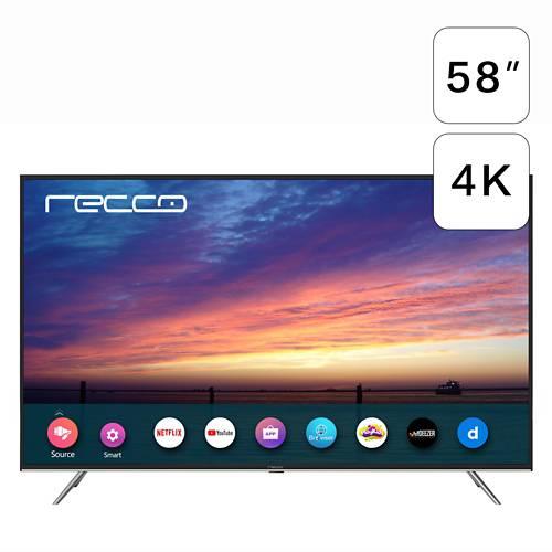 Led Recco 58'' L58D1202 4K Ultra Hd Smart Tv