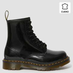 DR MARTENS - 1460 W Patent Botín Mujer Cuero Negro