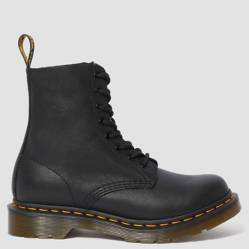 Dr Martens - 1460 Pascal Botín Mujer Cuero Negro