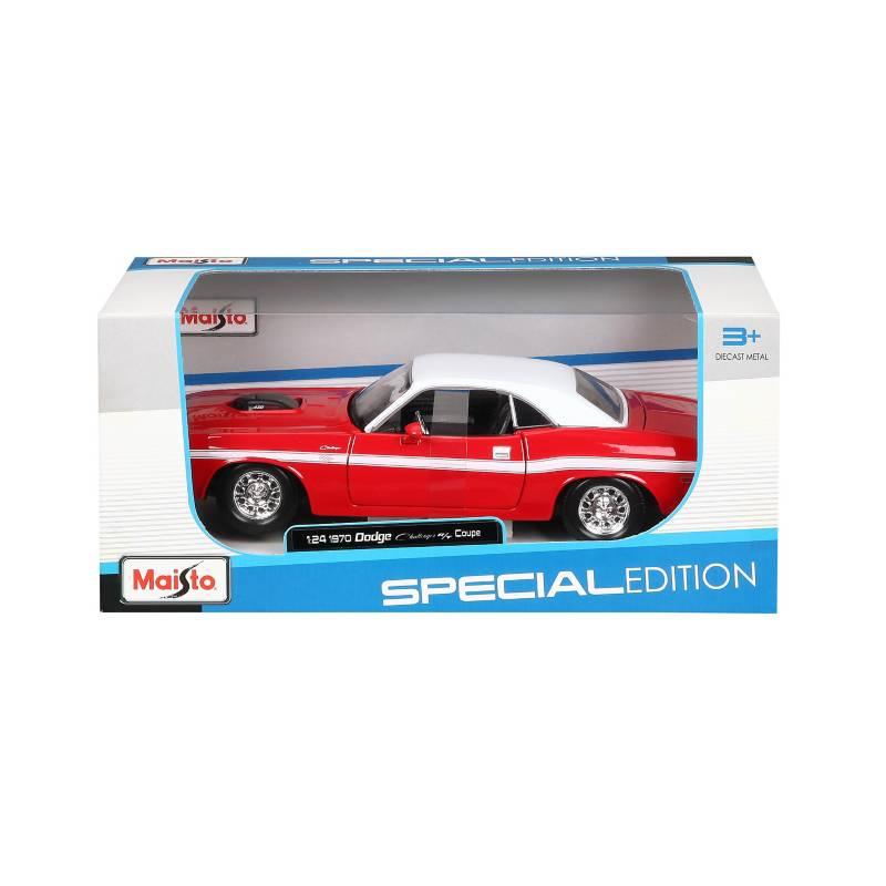 MAISTO - Auto Coleccion 1:24 DODGE CHALLENGER 1970