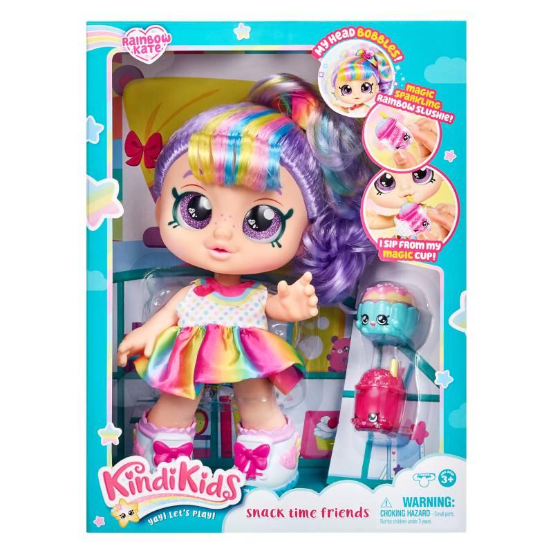 KINDI TOYS - Muñeca Kindi Kids Rainbow Kate