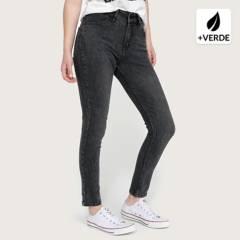 Americanino - Jeans skinny poliéster reciclado Mujer