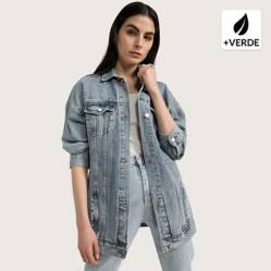 Basement - Chaqueta Jeans Mujer