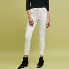 BASEMENT - Jeans Slim Tiro Alto Mujer