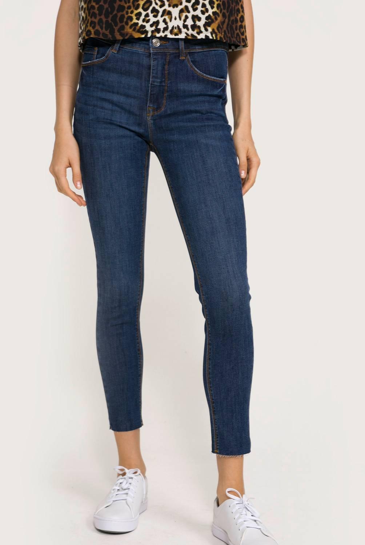 BASEMENT - Jeans Skinny Tiro Medio Mujer