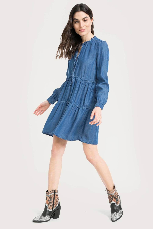 Basement - Vestido Tencel