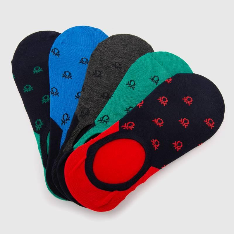Benetton - Pack de 5 Calcetines de vestir