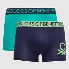 Benetton - Pack de 2 Boxer Hombre