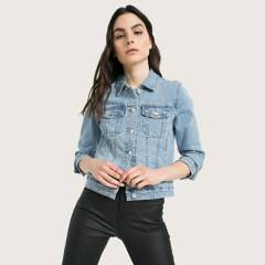 Basement - Chaqueta Jeans Mujer