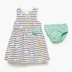 Yamp - Vestido Algodón Bebé Niña