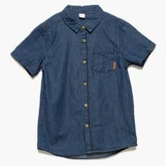 Yamp - Camisa jeans niño