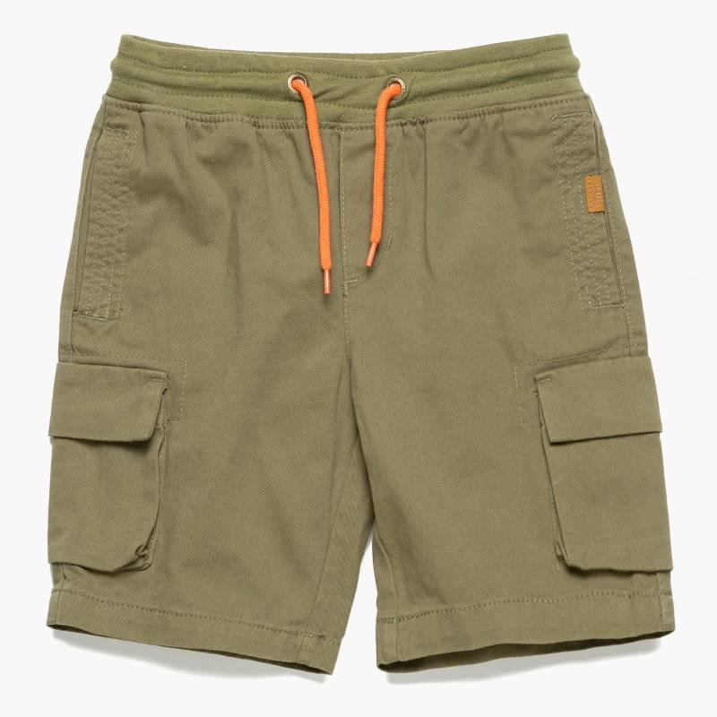 Yamp - Short cargo cintura elasticada niño