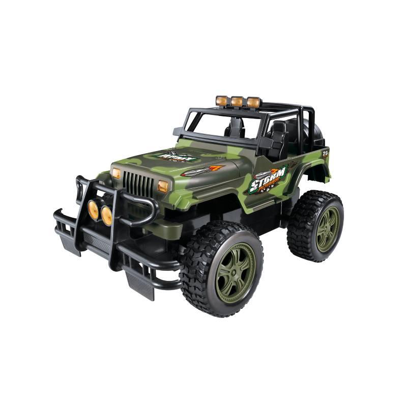 Radiocontrolado Camioneta Tipo Jeep 1:12 con Cargador