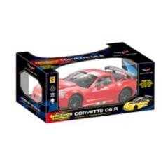 Guokai - Radiocontrolado Corvette 1:18 Rojo