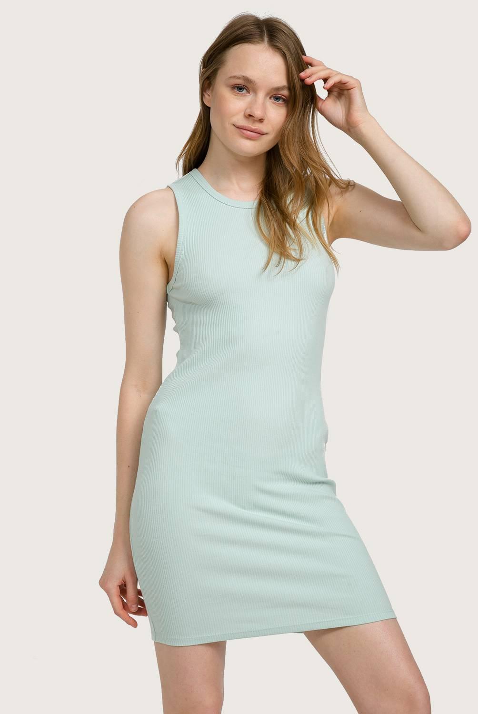 Sybilla - Vestido de Algodón Mini Mujer
