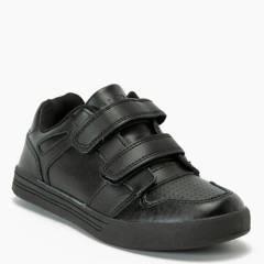 Holley - Zapato Escolar Niño Cuero Negro